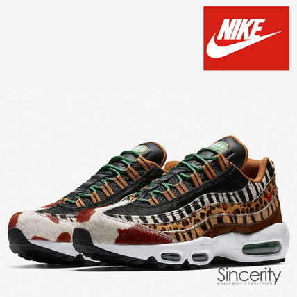 huge discount eaa53 a0b70 Nike AIR MAX 95 2018 SS Street Style Collaboration Other Animal Patterns  Sneakers