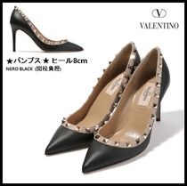 VALENTINO Leather Elegant Style Pumps & Mules