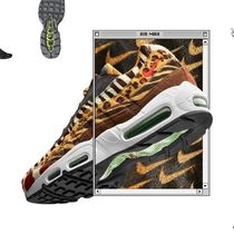 Nike AIR MAX 95 Leopard Patterns Unisex Street Style Collaboration Sneakers