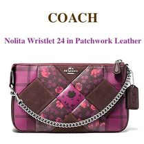Coach NOLITA Other Check Patterns Flower Patterns Blended Fabrics 2WAY