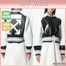 Off-White Leather Jackets