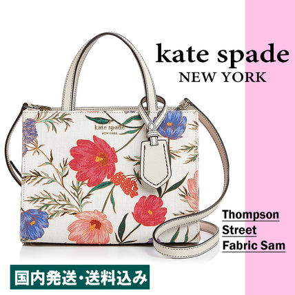 Flower Patterns Casual Style 2WAY Handbags
