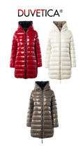 DUVETICA Casual Style Street Style Plain Long Down Jackets