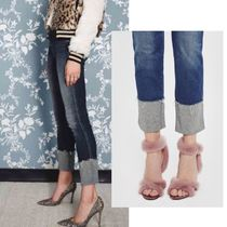 MOTHER Denim Street Style Plain Long Skinny Jeans