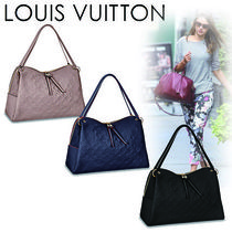 Louis Vuitton MONOGRAM EMPREINTE Monogram Casual Style 2WAY Plain Leather Handbags
