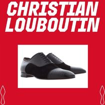 Christian Louboutin Suede Blended Fabrics Plain Oxfords