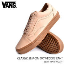 VANS OLD SKOOL Plain Leather Sneakers