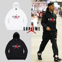 Supreme Street Style Collaboration Hoodies