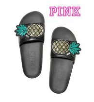 Victoria's secret PINK Tropical Patterns Casual Style Street Style Sport Sandals