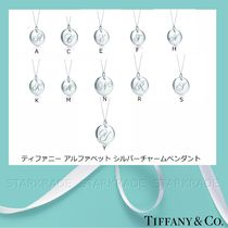 Tiffany & Co Casual Style Initial Silver Necklaces & Pendants