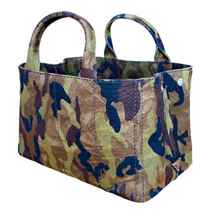 PRADA Totes Camouflage Casual Style Unisex Canvas A4 2WAY Totes 4