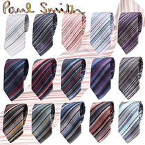 Paul Smith Stripes Silk Ties