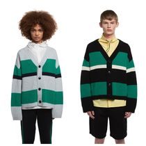 TRUNK PROJECT Stripes Unisex Street Style Cardigans