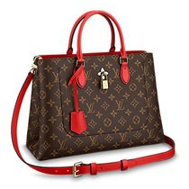 Louis Vuitton MONOGRAM Monogram Canvas Blended Fabrics 3WAY Bi-color Elegant Style