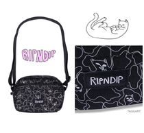 RIPNDIP Camouflage Unisex Street Style Messenger & Shoulder Bags