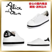 Alice+Olivia Casual Style Plain Low-Top Sneakers