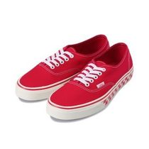 VANS AUTHENTIC Other Check Patterns Unisex Street Style Deck Shoes