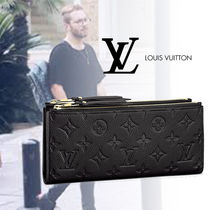 Louis Vuitton Monoglam Leather Long Wallets