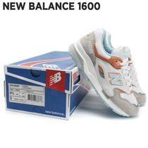 New Balance 1600 Square Toe Casual Style Suede Pin Heels Low-Top Sneakers