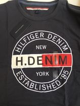 Tommy Hilfiger Crew Neck Crew Neck Cotton Short Sleeves Logos on the Sleeves 8
