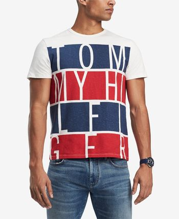 Tommy Hilfiger Crew Neck Crew Neck Cotton Short Sleeves Logos on the Sleeves 2