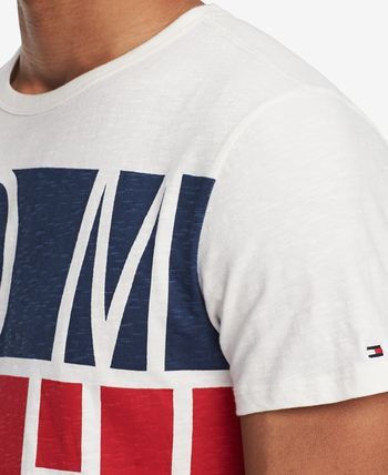 Tommy Hilfiger Crew Neck Crew Neck Cotton Short Sleeves Logos on the Sleeves 3