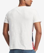 Tommy Hilfiger Crew Neck Crew Neck Cotton Short Sleeves Logos on the Sleeves 4