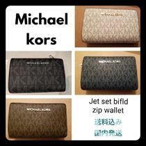 Michael Kors Saffiano Plain Long Wallets