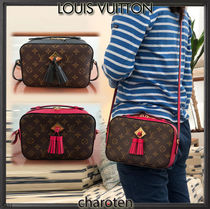 Louis Vuitton MONOGRAM Monogram Canvas Blended Fabrics Tassel 3WAY Bi-color