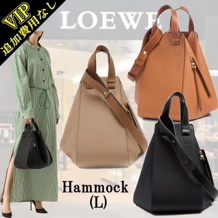 3WAY Plain Leather Elegant Style Shoulder Bags