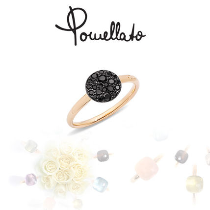 Casual Style 14K Gold Rings
