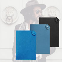 HERMES Plain Leather Wallets & Small Goods