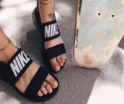 ... Nike More Sandals Casual Style Plain Sandals Sandals ...
