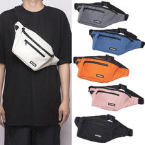 NEIKIDNIS Casual Style Unisex Nylon Street Style Plain Shoulder Bags
