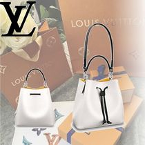 Louis Vuitton EPI Epi NÉONOÉ Shoulder Bags