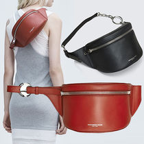 Alexander Wang Casual Style 2WAY Plain Leather Shoulder Bags