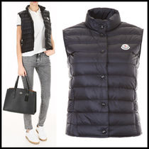 MONCLER LIANE Short Casual Style Street Style Plain Down Jackets