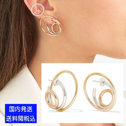 yellow vand mian chesnais charlotte product helix clip on gold earrings vermeil