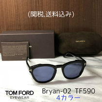 TOM FORD Unisex Oval Sunglasses