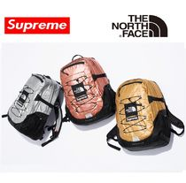 Supreme Unisex Street Style Collaboration Bag in Bag A4 Plain