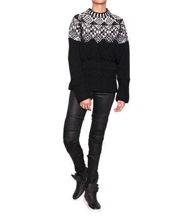 Marcelo Burlon County Of Milan Chachai Fringed Women Sweater