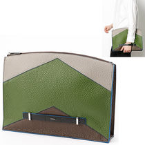 FURLA A4 Leather Clutches