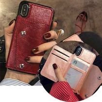 Faux Fur Plain Bold Smart Phone Cases