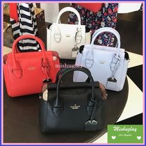 kate spade new york 3WAY Plain Leather Elegant Style Shoulder Bags