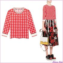 MARNI Other Check Patterns Casual Style Cotton Shirts & Blouses