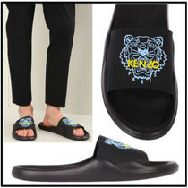 KENZO Street Style Other Animal Patterns Sandals