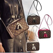 Louis Vuitton MONOGRAM Monogram Tassel Leather Shoulder Bags