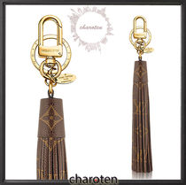 Louis Vuitton MONOGRAM Monogram Unisex Canvas Tassel Keychains & Holders