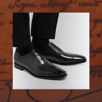 Berluti Plain Leather Oxfords
