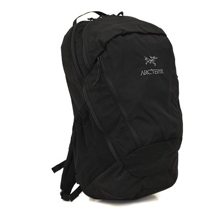 Casual Style Nylon A4 Backpacks